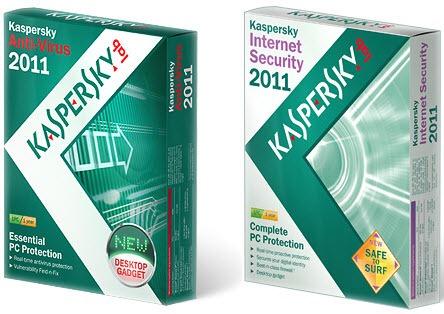 Kaspersky Antivirus 2011 & Kaspersky Internet Security 2011