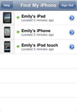 Find My iPhone - Locate lost iPhone or iPad