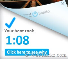 Soluto - boot time