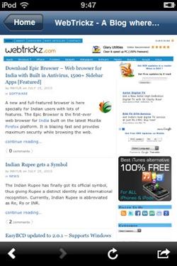 webtrickz on Firefox Home