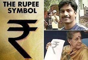 Rupee symbol - Udaya