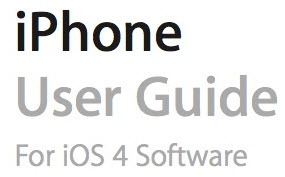iPhone user guide for iOS 4 software