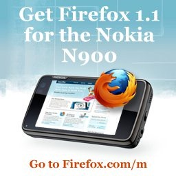 Firefox 1.1 for Nokia N900