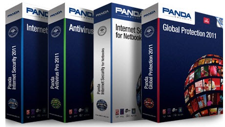 Panda security 2011 products