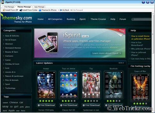 iSpirit_themes manager