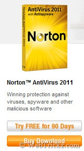 Norton Antivirus 2011_90 days free