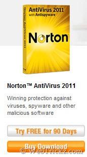 Norton Antivirus 2011_90 days free