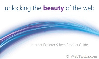 Internet Explorer 9 Beta Product Guide