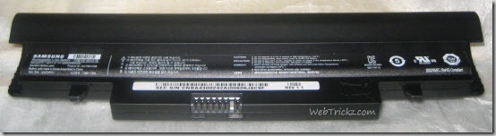 Samsung N148 plus_6 cell battery