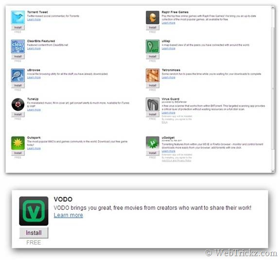 uTorrent 2.2.0 Beta 21882_Apps