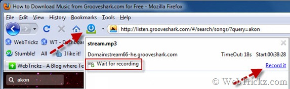 download music from grooveshark