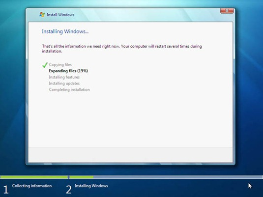 process_installing windows 7