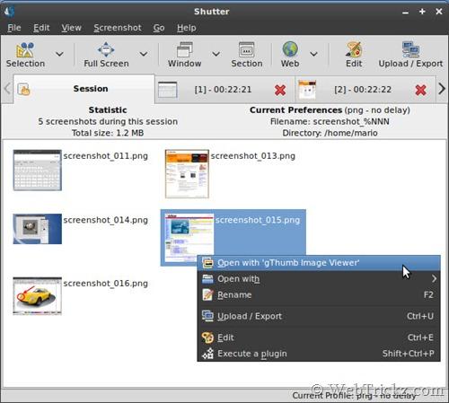 shutter_screenshot tool