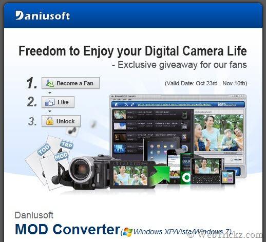 Daniusoft MOD Converter_giveaway