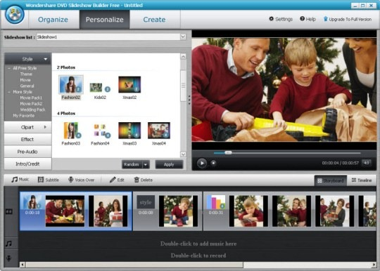 DVD Slideshow Builder Free