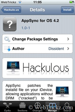 AppSync for OS 4.2