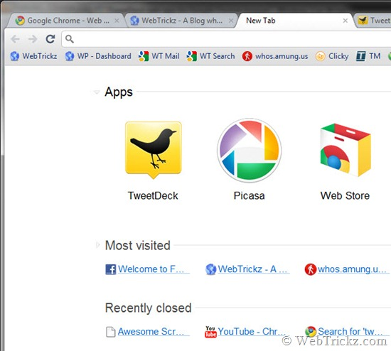 Apps section_chrome