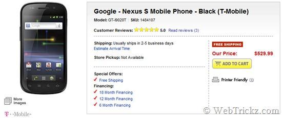 Nexus S Unlocked