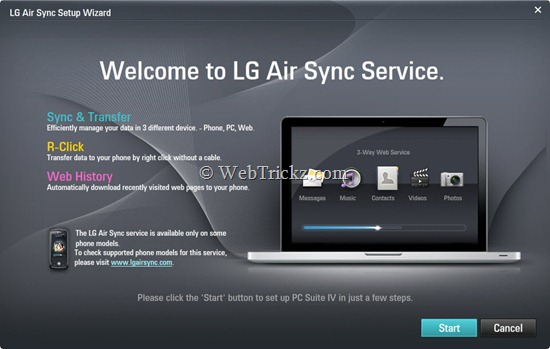 LG Air Sync