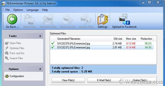 FILEminimizer Pictures_optimized files