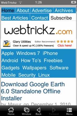 UC Browser_webtrickz