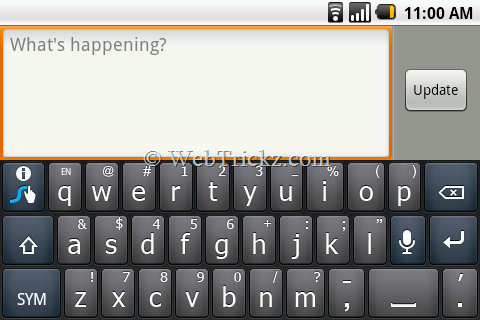 swype_latest preview on P500