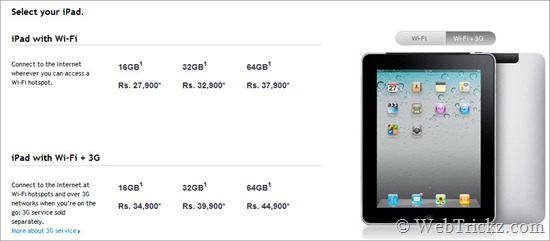 ipad_price in india