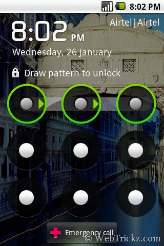 unlock screen_android