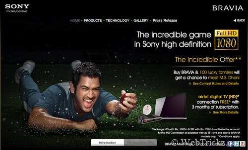 The Incredible Game in Sony High Definition_Offer