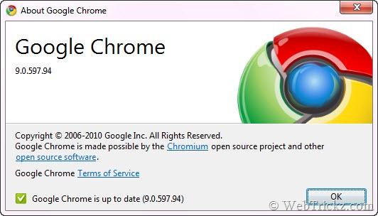 google chrome 9 stable