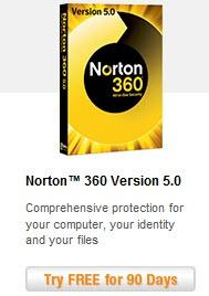 Norton 360 v5.0