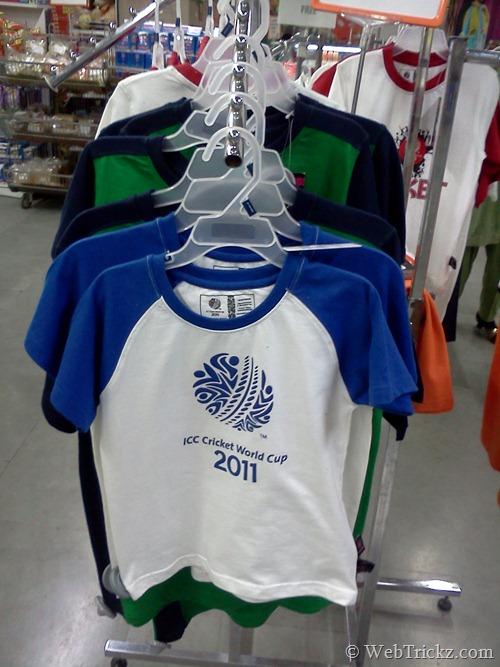 ICC CWC 2011 Tee_kids