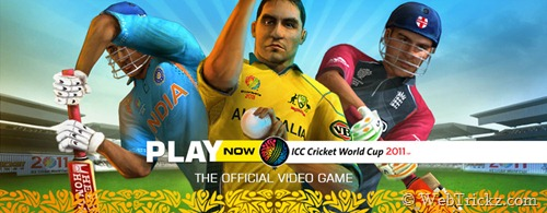 Cricket World Cup 2011_official game