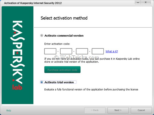 Kaspersky Internet Security 2012_license