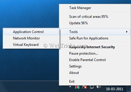 KIS 2012_right-click options