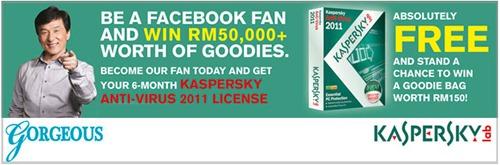 Grab Free 6 Months License Of Kaspersky Anti Virus 2011