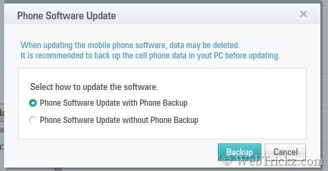 phone backup