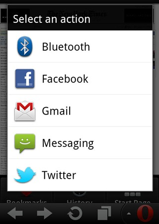 Sharing option_android