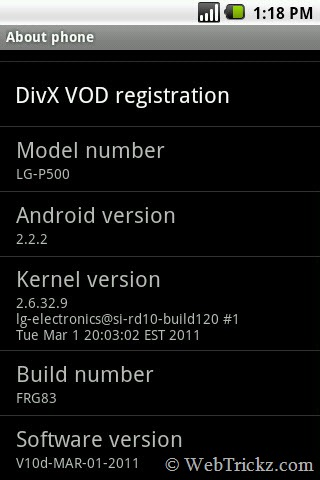LG P500_software_v10D_Android 2.2.2