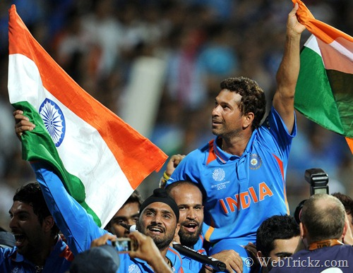 sachin lifted by all