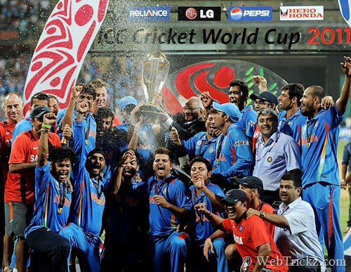 India world cup 2011 win