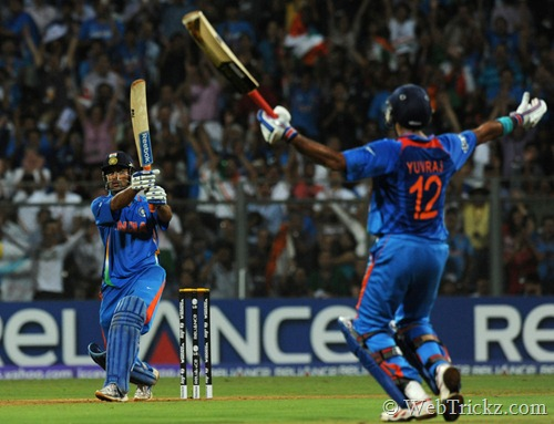 match winning shot by dhoni