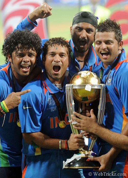 WC 2011 Trophy_india