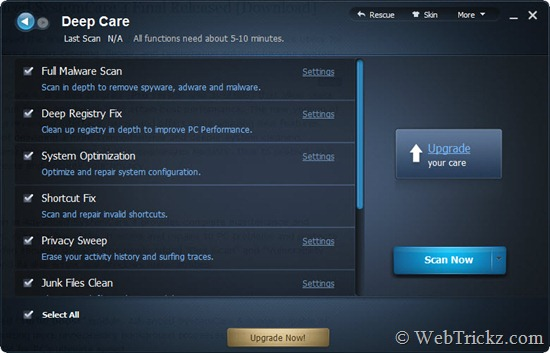 Advanced SystemCare_DeepCare