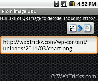 QR Droid_QR image url