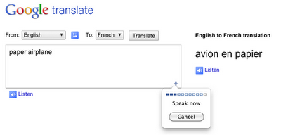 speechinput-googletranslate