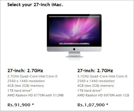 27-inch iMac_india_price