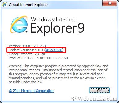 IE 9.0.1 update