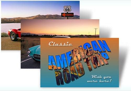 Classic American Road Trip theme