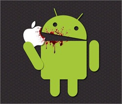 android vs apple hd desktop wallpapers for android fans